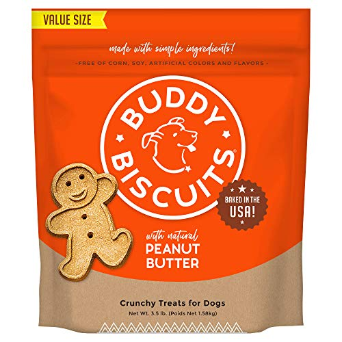 Buddy Biscuits Oven-Baked, Healthy Whole-Grain,...