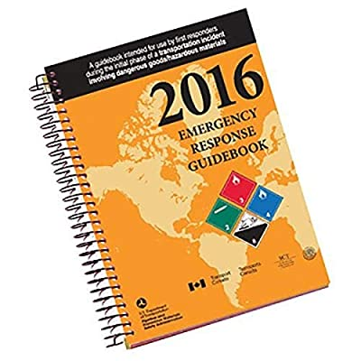 Full Size, Spiral Bound Edition Brand New 2016 Version Expanded Rail Car Identification and Road Trailer Identification charts Added information about Globally Harmonized System of Classification and Labeling of Chemicals (GHS) markings Expanded Tabl...