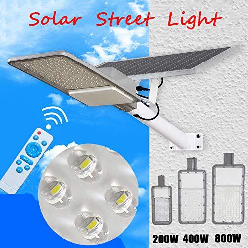 LAMP-XUE 200W 400W 800W luci di Via solari Esterna Lampada di inondazione con Telecomando della...
