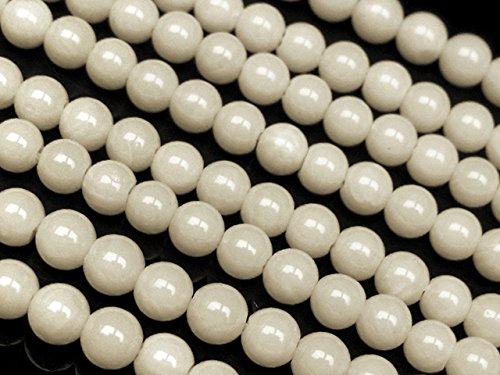 ホワイトコーラル(白珊瑚) 丸玉 4mm
