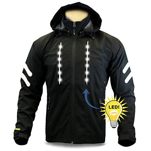 6. KwikSafety Firefly Racing LED Cycling Jacket