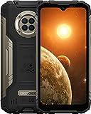 DOOGEE S96 Pro 8GB RAM + 128GB ROM Movil, 6350mAh Smartphone 4G, Cámara Cuádruple 48MP, Visión Nocturna + Frontal 16MP, Android 10, 6.22 HD+, NFC, GPS, IP68 IP69K Móvil Resistente al Agua, Negro