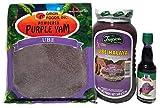 World Food Mission Purple Yam Ube Delight (Tropics Purple Yam Jam, Giron Foods Powdered Ube, McCormick Ube Flavoring Bundle)