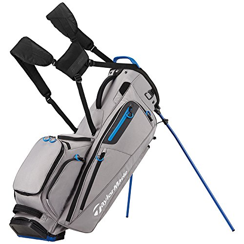 TaylorMade Flextech Golf Bag Gray/Royal