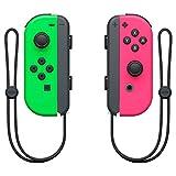 Nintendo Switch Paire de manettes Joy-Con gauche vert néon & droite...