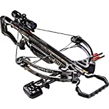 Barnett Whitetail Hunter II Crossbow | Shoots 350 FPS | Includes 4x32 scope, rope cocking device, light weight quiver & two 20 inch Headhunter arrows