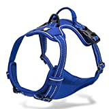 Chai's Choice - Premium Outdoor Adventure Dog Harness - 3M Reflective Vest with...