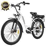 ANCHEER 26' Vélo électrique de Ville avec Batterie Amovible 12,5 Ah,...