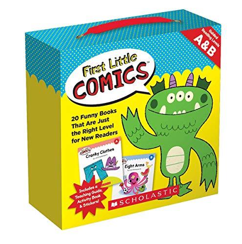 First Little Comics Parent Pack: Levels A & B: 20 Funny...