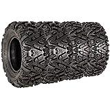 VANACC 26x9-12 26x11-12 ATV Tires Complete Set of 4 ATV UTV Tires 26x9x12 26x11x12 6PR