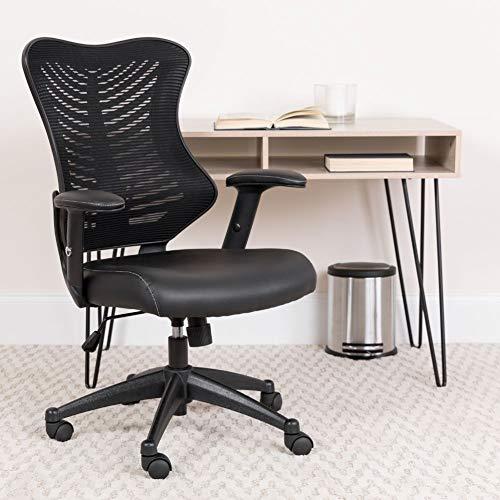 Flash Furniture High Back Designer Black Mesh...