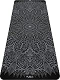 Plyopic Printed Yoga Mat | Non-Slip, Eco-Friendly TPE Exercise Mat for All Types of Yoga, Pilates, Barefoot Training, Fitness and Workouts. 1/4 inch (6mm) Thick
