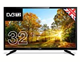 "Cello C32227T2 32"" HD Ready LED TV with built-in Freeview T2 HD – UK Made (Energy Class A) (Electronics)"