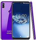 (2019) 4G téléphone Portable debloqué, OUKITEL C16 Pro Android 9.0 Smartphone, Quad-Core MT6761 2.0GHz 3 Go de RAM + 32 Go de ROM, 5.71 Pouces HD + écran Waterdrop, GPS, Dual SIM Violet