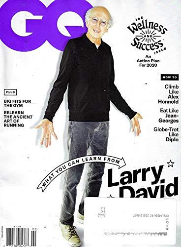 GQ Magazine (February, 2020) Larry David Cover