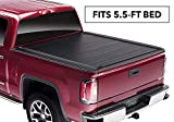 RetraxPRO MX Retractable Truck Bed Tonneau Cover   80230   Fits 2009-2018 Ram 1500 and 1500 Classic (2019) w/ STAKE POCKET 5' 6' Bed