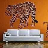 WERWN Pegatinas de Pared Pegatinas de Vinilo Orgullo Salvaje Africano Animal Diseño de Interiores de la casa Arte Arte de Oficina