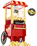 Gadgy Machine à Pop Corn | Retro Popcorn Maker | Air Chaud Sans Gras...