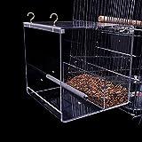 GFEU Mangeoire à Oiseaux Automatique en Acrylique avec Crochet...
