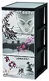 Iris Ohyama, Armoire de rangement design 3 tiroirs - Style Chest -...