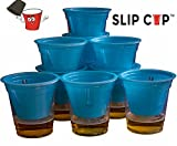 Slip Cup - Game Cups That Create Clean Beer Pong While Adding 40 Plus New Games-Pack of 20