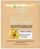 Garnier - Lingettes autobronzantes Ambre Solaire Natural Bronzeur pour le...