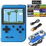 HMADA Consoles De Jeux Portable Retro FC, Console de Jeu Portable avec 500 Jeux...