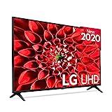 LG 55UN7100 - Smart TV 4K UHD 139 cm (55') con Inteligencia Artificial, HDR10 Pro, HLG, Sonido Ultra Surround, 3xHDMI 2.0, 2xUSB 2.0, Bluetooth 5.0, WiFi, Compatible con Alexa