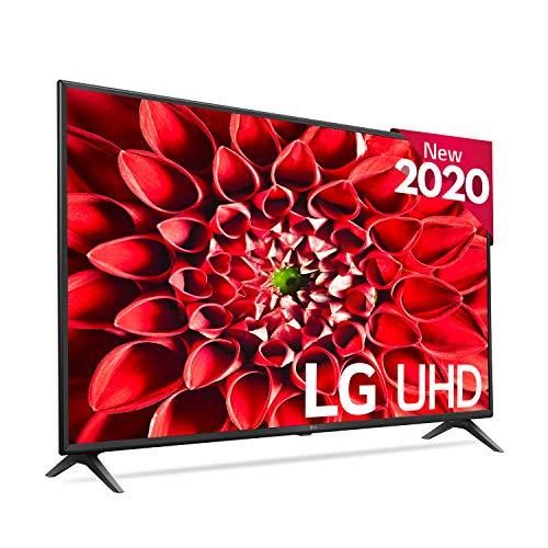 LG 49UN71006LB - Smart TV 4K UHD 123 cm (49') con Inteligencia Artificial, Procesador Inteligente Quad Core, HDR10 Pro, HLG, Sonido Ultra Surround, 3xHDMI 2.0, 2xUSB 2.0, Bluetooth 5.0, WiFi