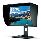 BenQ SW271 27 Inch 4K HDR Professional IPS Monitor |10-Bit with 14-Bit 3D LUT Hardware Calibration| Aqcolor for Accurate Reproduction | Detachable Shading Hood