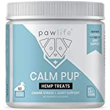 pawlife Calm Pup, Natural Calming Help Treats for Dogs with...