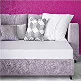 Classic Brands 4.5-Inch Memory Foam Replacement Mattress for Sleeper Sofa Bed Full