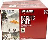 Kirkland Signature Pacific Bold Coffee K Cups, Dark Roast - 119 count, 3 lb box