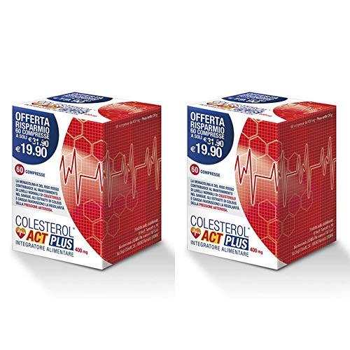 Colesterol Act Plus Integratore Alimentare (2 confezioni (120 compresse))