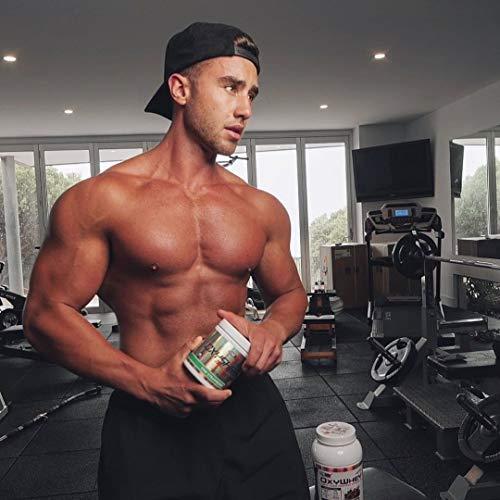 EHPlabs OxyShred Thermogenic Fat Burner Boost Metabolism, Low Stimulant, Destroy Stubborn Fat Cells (Mango) 2