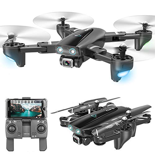 YHM Fotografia Aerea Drone 4K HD GPS, Posizionamento GPS, Telecomando 5G, Distanza di Controllo 800 Metri