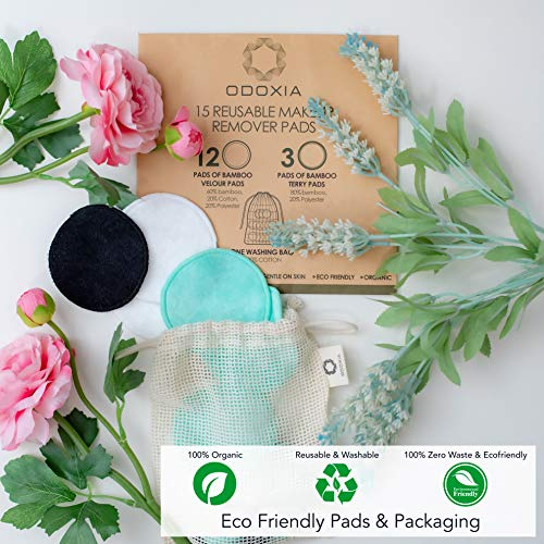 Reusable Makeup Remover Pads   Eco Friendly & Zero Waste Cotton Rounds   Beauty Products   15 Natural & Organic Face… 2