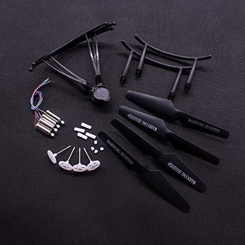 LIZONGFQ H31 Motor Gears Main Gear Propeller Engines Blades for JJRC H31 RC Drone Spare Parts