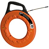 Klein Tools 56055 Fish Tape, Fiberglass with Grooves for Less...