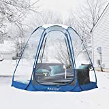 Alvantor Winter Screen House Room Camping Tent Canopy Gazebos 6-8 Person for Patios, Large Oversize Weather Pod, Premium Greenhouse Instant Pop Up Tent, Snow and Rain Protection Beige 10'×10'