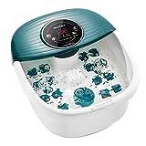 Bain de Pieds Relaxant, Balnéothérapie avec Accessoires de...