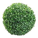 Lispeed - Planta artificial decorativa de boj y rbol, mini planta artificial decorativa, hierba verde, bonsi para bodas, oficinas, decoracin de hogar