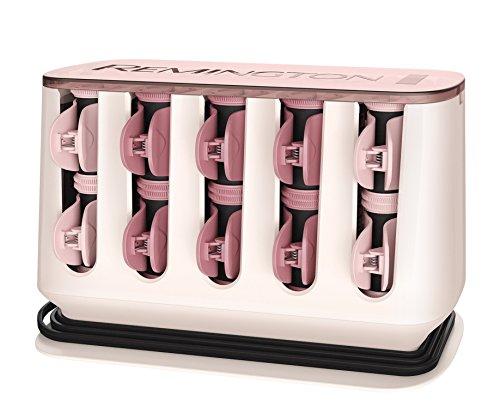 Remington Lockenwickler PROluxe H9100, aufheizbar, OPTIheat-Technologie, innovatives Clip-Design, zwei Größen (25 mm, 32 mm), rosé/schwarz