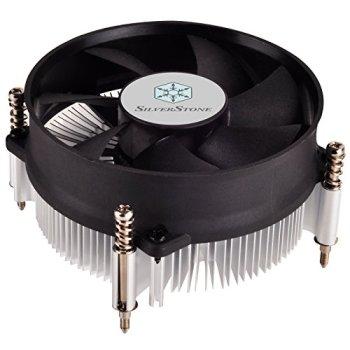 SilverStone SST-NT09-115X - Nitrogon CPU Cooler, Low Profile, quiet 80mm PWM, Intel