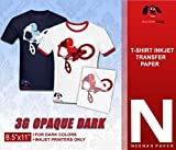 NEENAH 3G JET-OPAQUE HEAT TRANSFER PAPER 8.5 X 11' CUSTOM PACK 100...