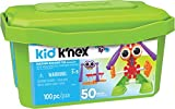 Kid KNEX  Budding Builders Building Set  100 Pieces  Ages 3 and Up  Preschool Educational Toy