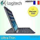 Logitech Étui à clipser ultra fin magnétique pour Apple iPad mini 1/2/3...
