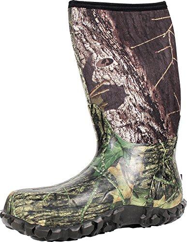 Bogs Men's Classic High Waterproof Insulated Rain Boot, Mossy Oak, 12 D(M) US