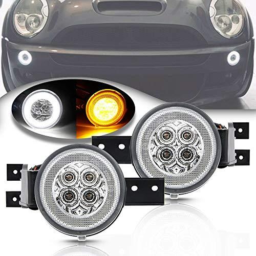 LED DRL Luce di parcheggio per indicatore di direzione accessoria per 05-08 MINI Cooper R52 Cabriolet e 02-06 MINI Cooper R50 R53 Hatchback