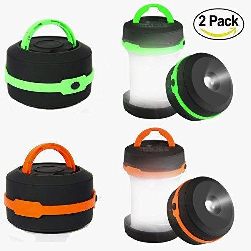 Camping Lantern 2 Pack Led Lantern Mini...